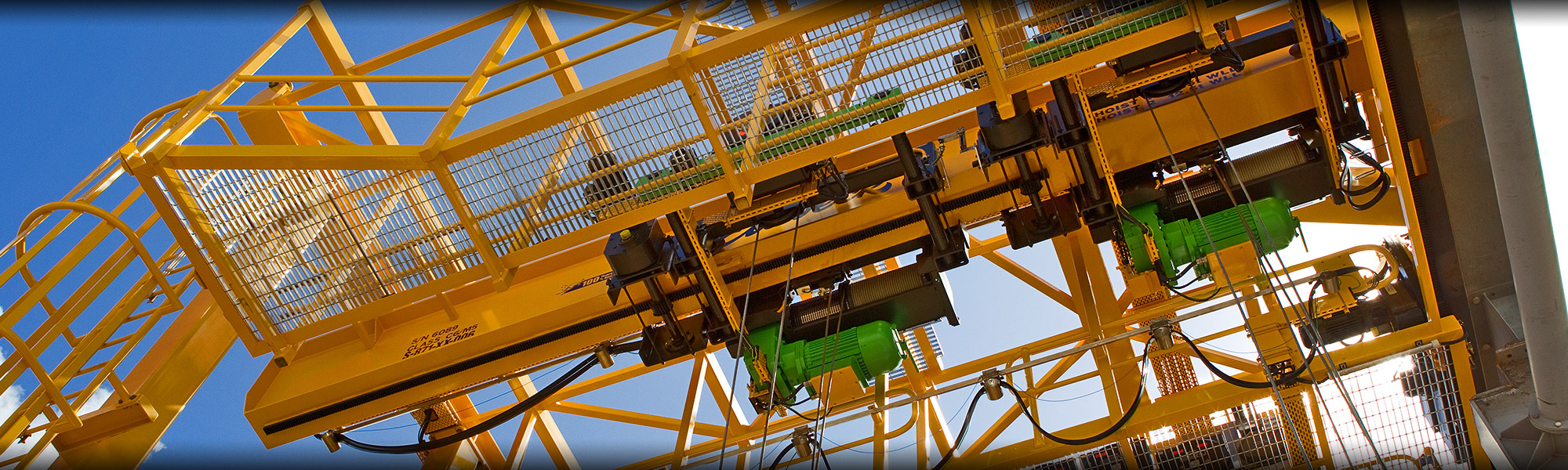 Overhead Cranes Perth : Servicing explosion proof cranes hoists