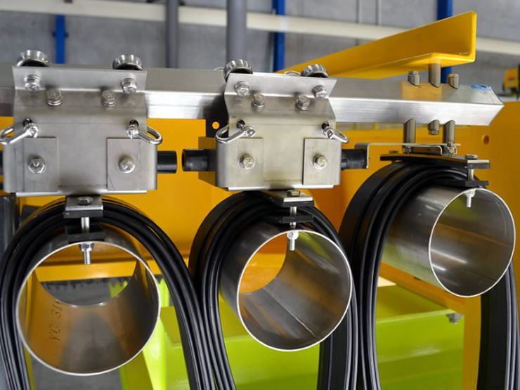 Hazardous Area Compliant Stainless Steel Diamond Bar Catenary System