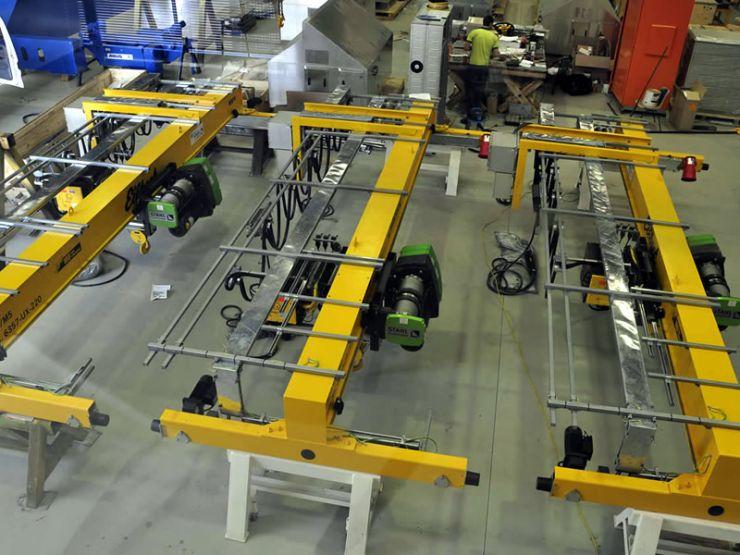 Overhead Cranes for FLUOR-Santos GLNG